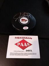 Jeremy Roenick Autographed Signed Phoenix Coyotes Hockey Puck Certified PAAS
