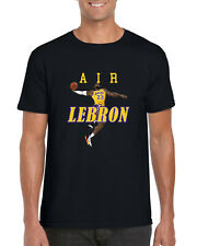 Air LeBron T-Shirt, LeBron James los Angeles Lakers Jugador De Baloncesto Unisex Camisa
