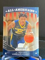 2019-20 Panini Prizm Draft Picks All Americans JA MORANT Rookie RC #44