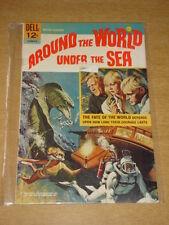 MOVIE CLASSIC AROUND THE WORLD UNDER THE SEA FN (6.0) DELL COMICS DEC 1966