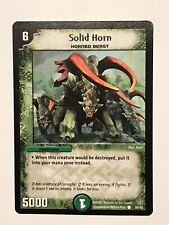 Solid Horn Duel Masters DM09 Common card TCG CCG
