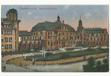 Germany - Frankfurt - Senkenbergianum - 1900's card with glitter