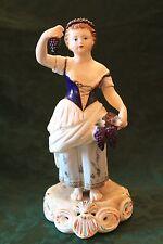 "Royal Crown Derby Handpainted Porcelain Figurine Four Seasons ""Autumn""1861-1935"