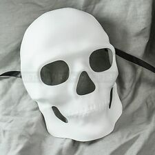 White Sugar Skull Mask Halloween Masquerade Party Day of the Dead Dia de Muertos