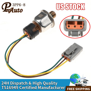 Injector Control Oil Pressure Sensor ICP 3PP6-8 Fits Maxxforce DT466E and DT570