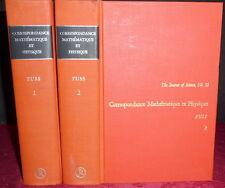 Bernoulli, Euler, Goldbach 18th C Mathematics & Physics, Fuss 1843 2V 1968 Rprnt