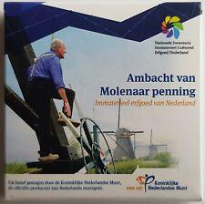 Nederland 2018 Ambacht van Molenaar penning in envelopje