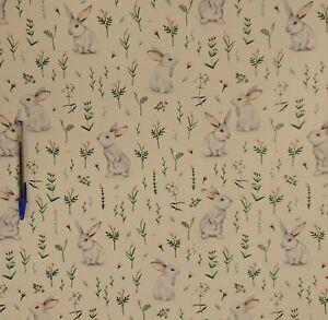 Cotton Tail 164cm wide 100% Cotton children's Dress Craft Printed Fabric