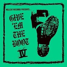 Give 'Em the Boot, Vol. 4 [Digipak] by Various Artists (CD, Nov-2004, Hellcat)