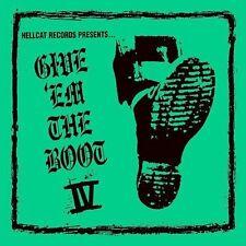 Give 'Em the Boot, Vol. 4  CD RANCID tiger army ducky boys JOE STRUMMER unseen