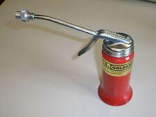Goldenrod #601 Pistol Grip Oil Can 6oz Rigid Spout Spray Tip Dutton-Lainson