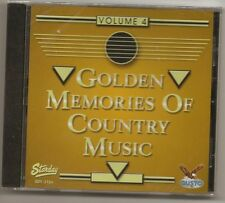 "GOLDEN MEMORIES OF COUNTRY MUSIC, VOL. 4, CD, ""VARIOUS VARIOUS"" NEW SEALED"