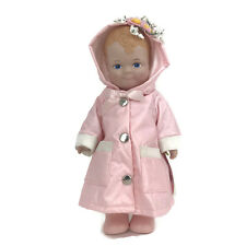 "Linda RIck The Doll Maker Lovey Dovey Baby Doll April Showers Raincoat 12"" Vinyl"