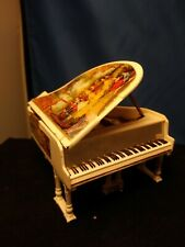 exclusive Musical Piano for Vintage MINATURE Doll HOUSE.