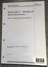 Bs en 1993-1-5:2006 eurocode 3. conception de structures d'acier.