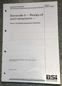 BS EN 1993-1-5:2006 Eurocode 3. Design of steel structures.