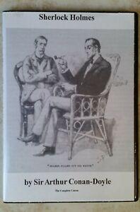 Complete Sherlock Holmes Audio Books - on mp3 DVD