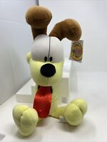 """Rare 1999 Vintage Slinky Odie the dog Plush Garfield 17"""" Collectible Stuffed"""