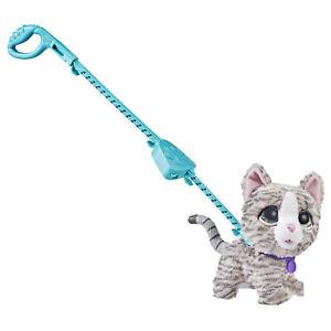 furReal Walkalots Big Wags, Kitty, Pet Plush Toy, Official