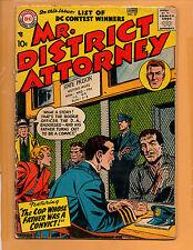 Mr. District Attorney #57 Golden Age Comic Jun 1957 Vg-