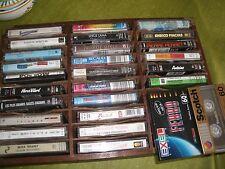 Lot de 26 cassettes de chanson et variété française
