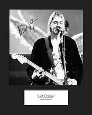KURT COBAIN #4 10x8 SIGNED Mounted Photo Print - FREE DELIVERY