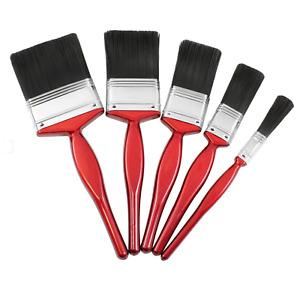 5 Pack Paint Brush Set Brushes Decorating Painting DIY Fine Professional UK
