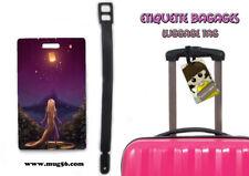 Etiquette bagage / luggage tag - disney raiponce tangled rapunzel 01-001