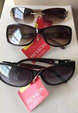 Revlon Womens Name Brand Sunglasses NWT Brand Name Stylish Lot Of 3