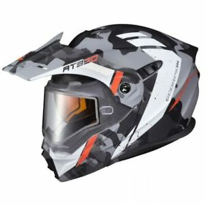 Scorpion EXO-AT950 Outrigger Snowmobile Helmet Cold Weather Matte Gray