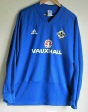 Northern Ireland Training Jumper. Size XL. Adidas. Blue Adults Football Top Kit.