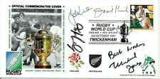 ✺Signed✺ All Blacks 1991 Rugby World Cup Official Commemorative Cover