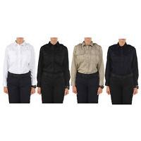 5.11 Tactical Women's Twill PDU Class-A Long Sleeve Shirt, Style 62064, XS-XL