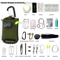 29 in 1 Outdoor Survival Kit First Aid Tools Camping Rescue Gear Emergency Kit