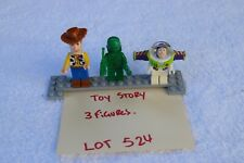 LEGO Toy Story used Minifigures lot of 3 figures (lot 524) fast shipping