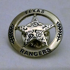 Texas Ranger Lapel or Hat Pin