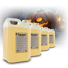 20 Litre Beamz Eco Smoke Machine Fluid Orange Spooky Halloween Theme Party