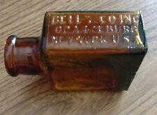Bell & Co Inc Amber Glass Bottle, Orangeburg NY USA