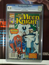 Moon Knight #19 CGC 9.8 Rob LIEFELD PUNISHER SPIDERMAN COVER