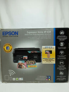 EPSON Expression Home XP-34 All In One Printer New In Open Box!
