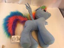 "My Little Pony Rainbow Dash LARGE JUMBO 24"" Plush Stuffed Animal Toy Bonus Mini"