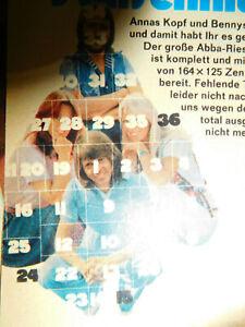 ABBA   STARSCHNITT  NICHT KOMPLETT  0820