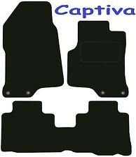 Tailored Deluxe Quality Car Mats Chevrolet Captiva 2006 Onwards ** SUV ** 4x4