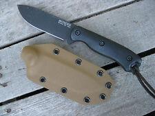 Valhalla Custom Kydex Sheath Ka-Bar Becker BK16 Drop Point COYOTE SHEATH ONLY
