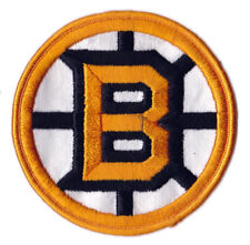 "1970'S BOSTON BRUINS NHL HOCKEY 4"" HOME JERSEY PATCH"