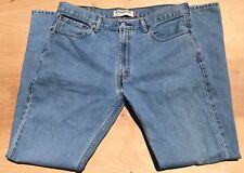 Levi Strauss 505 Regular Straight 36 x 34 Men's Blue Jeans