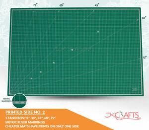 JKCraft A0/LA0/XLA0 Up to 2.4m 5Ply Self Healing Cutting Mat Improved/Normal PVC
