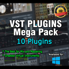 Vst Plugins Pack (10 plugins to choose) for Win
