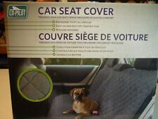 New listing Co-Pilot Pet Travel Car Back Seat Cover Grey 64 Inches X 53 Inches New In Box!