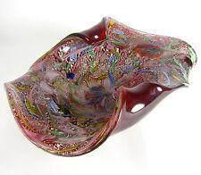 A.V.E.M. Glas Schale Rest Of The Day Dino Martens Design Murano Glass Bowl